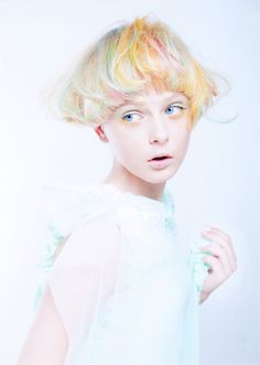 I wish I could pull off this fun pastel hair color. Coloured Hair, Creative Hairstyles, Rainbow Hair, Rainbow Pastel, Grunge Hair, Crazy Hair, Love Hair, Hair Art, Pretty Hairstyles