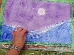 that artist woman: Polar Bears Revisited Winter Art Projects, Winter Crafts For Kids, Winter Kids, Winter Christmas, Art For Kids, Christmas Crafts, Kids Crafts, Bear Crafts, Crafts For Seniors