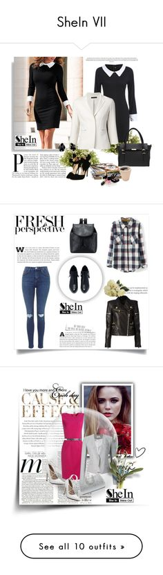 """SheIn VII"" by nermina-okanovic ❤ liked on Polyvore featuring Nearly Natural, Chanel, New Growth Designs, Diane James and White Label"