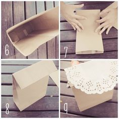 Daisy and Tea: DIY Gift Paper Bag