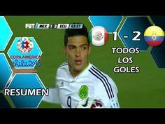 México vs Ecuador 1-2 GOLES RESUMEN FINAL Copa America Chile 2015 [HD]