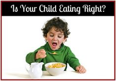 Is Your Child Eating Right?