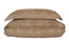 """Jacquard Duvet Setsinclude 2 Pillow Shams and 1 Duvet Cover About our TibarioJacquard Set The Tibario jacquard set was designed using arabesque inspiration. The set is designed and woven in Italy using 100% Egyptian Cotton -340 Thread Count giving it a smooth, soft and a subtle shin   ×     Type 2 Pillow Shams (W x L) Duvet Cover (W x L)     Standard King 21"""" x 32"""" + 2"""" Flap51 x 81 + 5 cm 106"""" x 94""""270 x 240 cm   Queen/Full  21"""" x 32"""" + 2"""" Flap5... Duvet Sets, Duvet Cover Sets, Pillow Shams, Bed Pillows, Bath Table, Luxury Bedding Sets, Egyptian Cotton, Table Linens, Luxury Homes"""