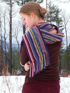 Free Pattern: Snippet Scarf