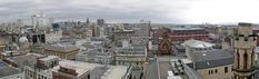 Glasgow city centre panorama from Lighthouse tower