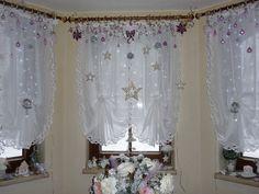 Výzdoba okien Vianoce 2013