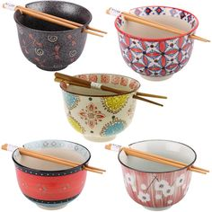 Serve up your favorite soup without fear of dropping your chopsticks! Our ceramic ramen bowl is both beautiful and functional, featuring a divot on one side of the rim, and two small holes on the opposite side.