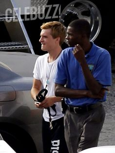 The Hunger Games: Catching Fire: Exclusive First Photos of Josh Hutcherson on the Atlanta Set (9/12/12)