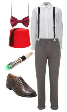 """""""Doctor Who"""" by bleeding-neverland on Polyvore featuring Alexander Wang, Topman and Miz Mooz"""