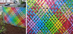 Image result for art projects with surveyors tape