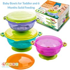 Feeding Bowls & Plates Collection Here Baby Feeding Bowls Wheat Fiber Ultimate Set Fork Spoon And Cup Dinosaur.