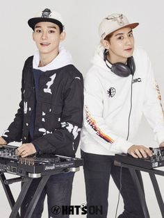 Chen and Chanyeol EXO for Hat's On