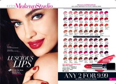 Over 60 luscious shades to choose from!!!  Love your lips.... https://rfulkerson.avonrepresentative.com/