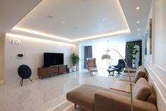 전주 신시가지 아이파크 아파트 인테리어 Small Living Room Design, Living Room Modern, Living Area, Living Room Designs, Apartment Interior, Living Room Interior, Living Room Decor, Style At Home, Luxury Interior Design