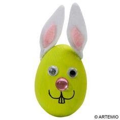 9 ideas kids funny easter eggs / 9 idées d'oeufs de Pâques rigolos pour les enfants Easter Dinner, Rubber Duck, Tweety, Craft, Pikachu, Toys, Character, Hobbies, Easter