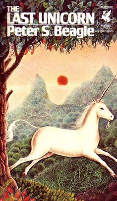 The 1982 animated movie The Last Unicorn, about a unicorn who goes searching for the rest of her kind, is based on the children's fantasy novel by Peter S. Beagle.