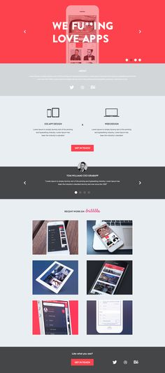 Agency_page — Designspiration