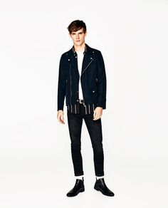 ZARA - MAN - BIKER JACKET