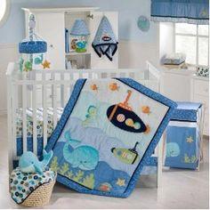 Under the sea baby room