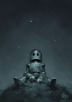 .....Wallpapers and Artworks — Lonely Robot Concept Art By Matt Dixon ...