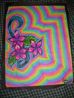 sharpie trippy highlighter sketch drawings sketches easy sharpies crafts cool drawing doodles doodle designs stuff deviantart discover inspire projects eyes