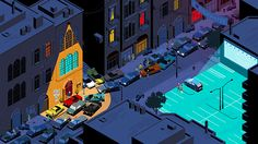 VOLVO Lebanon 'Only The Lonely' TV Campaign by rumble london, via Behance