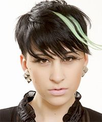 Find another beautiful images Short Funky Hairstyles For Short Hair Women Virtual Hairstyles, Creative Hairstyles, Funky Hairstyles, Latest Hairstyles, Short Hairstyles For Women, Funky Short Hair, Short Straight Hair, Short Hair Styles, Color Your Hair