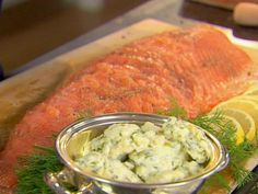 Get Smoked Salmon and Herb Butter Recipe from Food Network