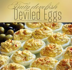 Spicy Low Carb Deviled Eggs: Secret Ingredient Make These Irresistable
