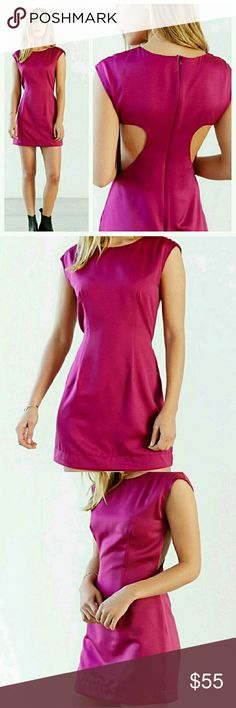 """Ladakh Cut Above Dress Ladkah """"Cut Above"""" dress with fitted cap sleeve & cut away back detail  - NWOT/Tag cut - 100% polyester  - Hand wash Urban Outfitters Dresses Mini"""