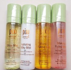 Have you ever tried Multimisting? Or maybe you've never heard of it? Multimisting is customizing your Makeup Setting Sprays for your skin type and the occasion. I think this is pretty cool. I've seen multi-masking with face masks and now we've evolved to using different setting sprays because every one is not made equal.  Pixi Beauty sent over a set of different Misting Sprays. I've been rotating them in my schedule and i'm loving it. There's a mist for everybody. I can see myself starting… Make Up Glow, Multi Masking, Propolis, Freelance Makeup Artist, Regrow Hair, Makeup Setting Spray, Pixi, Face Skin Care, Sprays