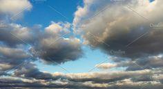 The sky of autumn. by Wonderful World on @creativemarket