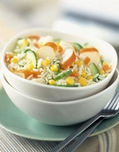 Salade de riz au surimi - Cuisine - Plurielles.fr