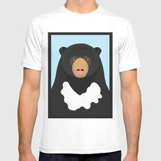 Sun bear T-shirt by diloraniumstrolivarius Black Bear, Brown Bear, Bear App, Bear Drawing, Bear T Shirt, Cute Gifts, Polar Bear, Cool Stuff, Stuff To Buy