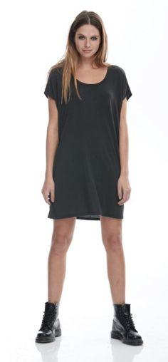 FASHION/OVERLOAD ROBE COURTE SQUARED MINI DRESS NOIR Shirt Dress, T Shirt, Collection, Mini, Dresses, Fashion, Dress, Dress Ideas, Dress Shirt