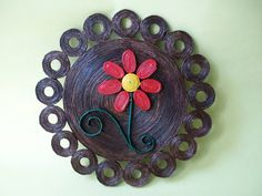 Fotos do perfil Recycled Paper Crafts, Paper Bag Crafts, Cardboard Crafts, Paper Quilling Designs, Quilling Art, Diy Crafts For Home Decor, Crafts To Make, Diy Dream Catcher Tutorial, Paper Mache Clay