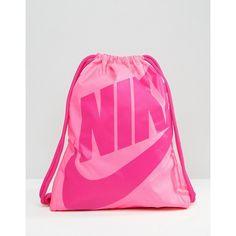Nike Heritage Sackpack Purple / Pink | Activewear | Pinterest ...