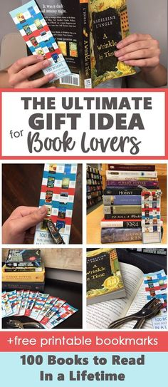 100 Books To Read In A Lifetime Gift Idea