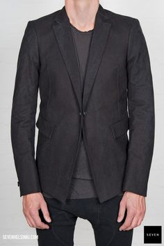 Boris Bidjan Saberi BBS SUIT1-F15302 991 € | Seven Shop Fall Winter, Suit Jacket, Blazer, Suits, Jackets, Shopping, Style, Fashion, Down Jackets