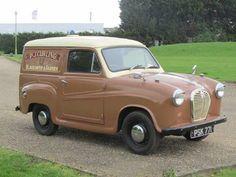 1960 Austin A35 Van.