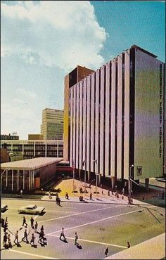 Completed In 1964 Security Tower Plaza Is The Headquarters Of The Secrity 1981 Rochester New York