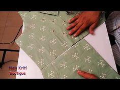 Trendy Sleeveless Kurti Design with Collar Cutting and Stitching Collar Kurti Design, Kurti Sleeves Design, Saree Blouse Neck Designs, Kurta Neck Design, Neckline Designs, Sleeves Designs For Dresses, Dress Neck Designs, Blouse Designs, Sleeve Designs