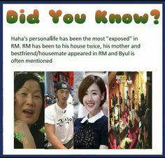 #DidYouKnowSeries #ByPyeonghwa #runningman #haha #hadonghoon #byul