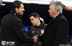 Duelo técnicos: Simeone vs Ancelotti