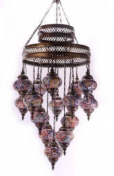 Светильник Мозаика на 15 плафонов 15105-A