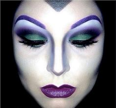 Maquillaje de fantasía: bruja.#Ravenna