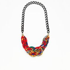 Maxine Necklace Lauren - Cheek-ie Jewelry (had to pin its got my name & my fav color, I mean c'mon!)