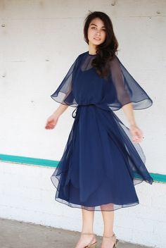 VTG Designer 60s Dress