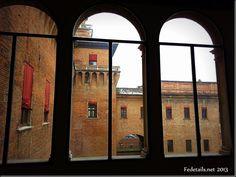 Dentro il Castello Estense, la saletta dei Veleni - Inside the Castello Estense, the room of the Poisons, Ferrara, Italy, Photo1