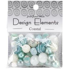JESSE JAMES-Design Elements. This color coordinated collection is the result of the most current fashion designer colors! Each package contains a c...